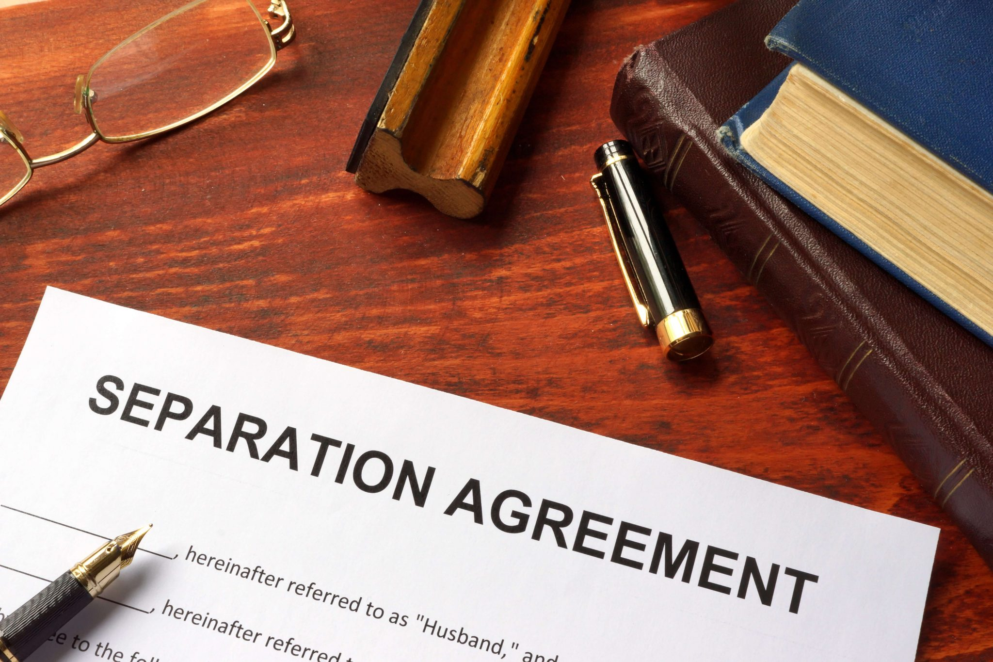Separation with lawyer Peter Hooper photo